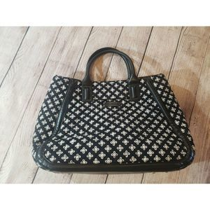 Vera Bradley Black and White Quilted Tote